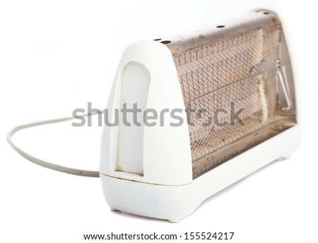 bread toaster isolated on a white background