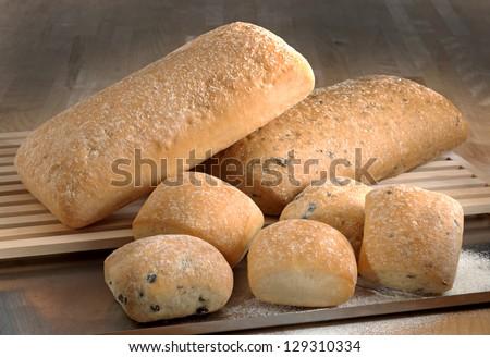breads - stock photo