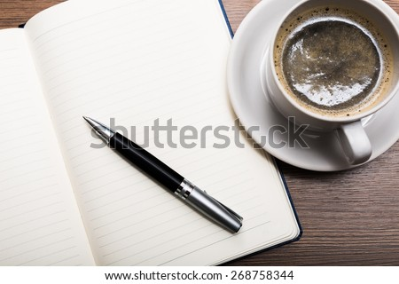 Breakfast. Business Concepts - stock photo