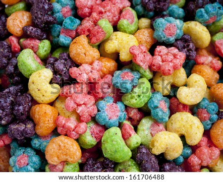 Breakfast - Cereal in bowl. - stock photo