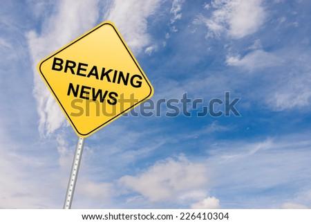Breaking News - stock photo