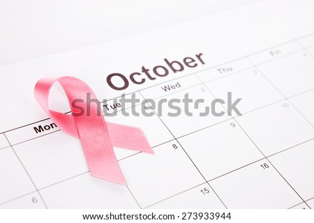 Breast Cancer Awareness Month - stock photo