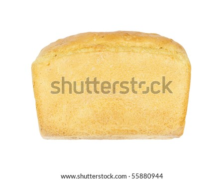 bred isolated on the white background