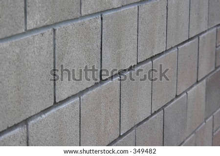 breeze block wall