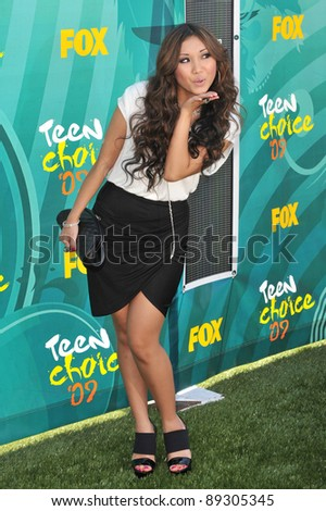 Brenda Song at the 2009 Teen Choice Awards at the Gibson Amphitheatre, Universal City. August 9, 2009  Los Angeles, CA Picture: Paul Smith / Featureflash