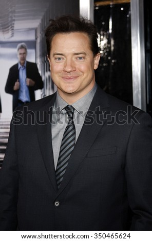 "Brendan Fraser at the Los Angeles Premiere of ""Extraordinary Measures"" held at the Grauman's Chinese Theater in Hollywood, California, United States on January 19, 2010."