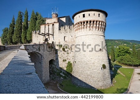Brescia - The Castle