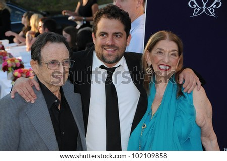 Brett Ratner and Grandparents at the 9th Annual Chrysalis Butterfly Ball, Private Location, Beverly Hills, CA. 06-05-10