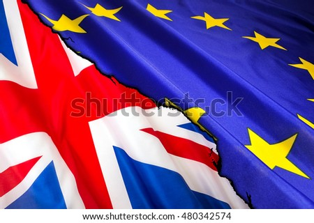 Brexit. United Kingdom exit from the European Union. Election or referendum in Great Britain.