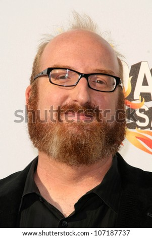 "Brian Posehn  at the ""Comedy Central Roast of Bob Saget"". Warner Bros Studios, Hollywood, CA 08-03-08"