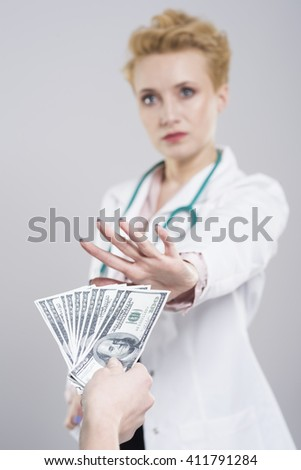 Bribe is a very serious crime