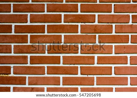 Brick and tile texture and background