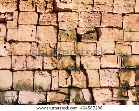 Brick art background