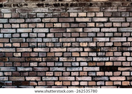 brick background - solid concrete wall - stock photo