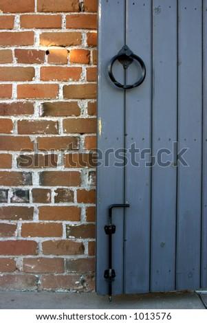 Brick Building - stock photo