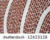 Brick mosaic - stock photo