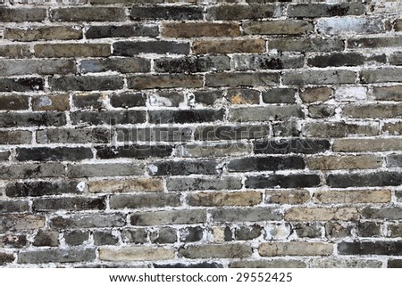 brick old wall