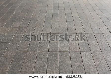 Brick pavement  - stock photo