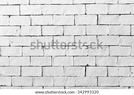 Brick texture background. White brick background. White brick wall. White brick texture. Cement brick texture. Cement brick background. Brick backdrop. White block background. Block background. Block - stock photo