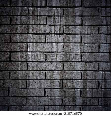 Brick textured wall