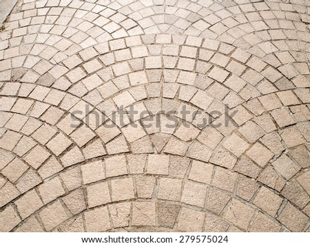 brick walk path pattern