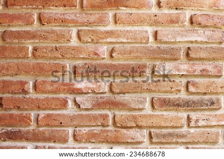 Brick wall background, Brick wall texture - stock photo