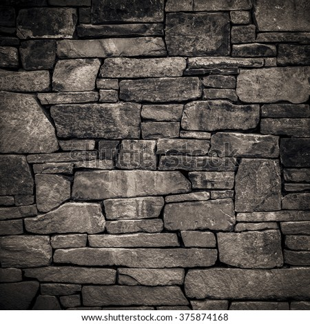 Brick wall background grunge texture - stock photo