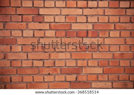 brick wall, Background of brick wall texture - stock photo