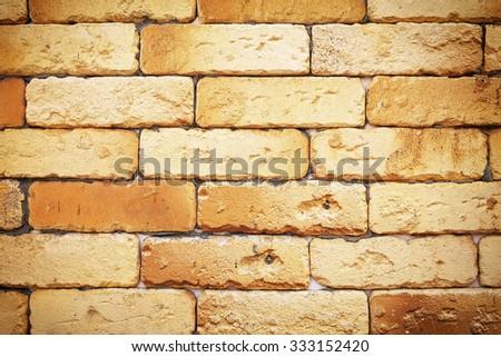 Brick wall background. Stone wall background.  - stock photo