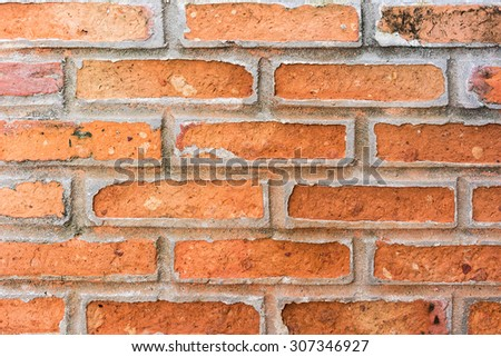 Brick wall background/texture.