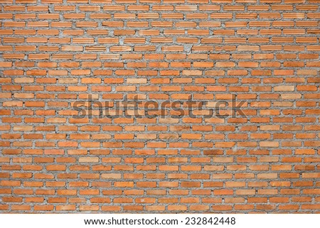 brick wall construction grunge texture background - stock photo