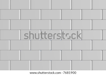 brick wall 3d render