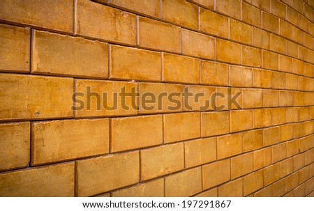 Brick wall for decoration interior/exterior building.