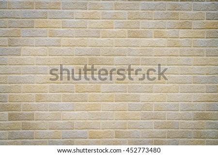 Brick wall pattern texture - stock photo