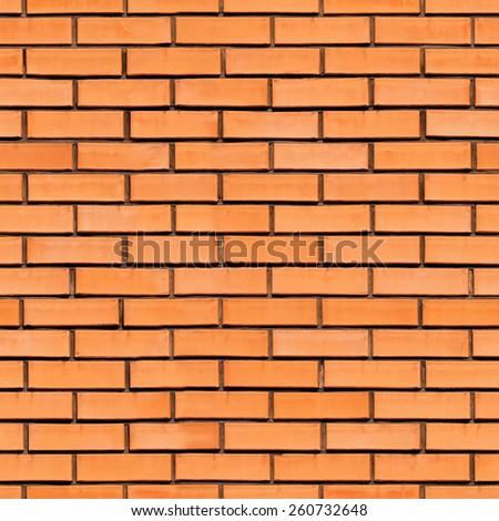 Brick wall. Seamless background. - stock photo