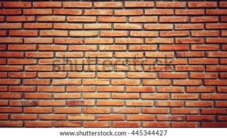Brick wall texture background.