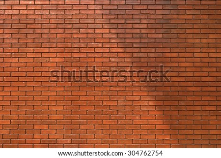 brick wall texture background material of industry building construction - stock photo