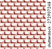 Brick wall texture. Seamless background. Doodle style. Raster version - stock