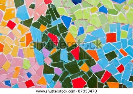 Brick wall Tile - stock photo
