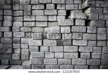 brick wallpaper - stock photo