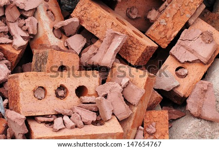 bricks for recycling
