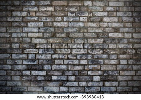 brickwork with vignette texture