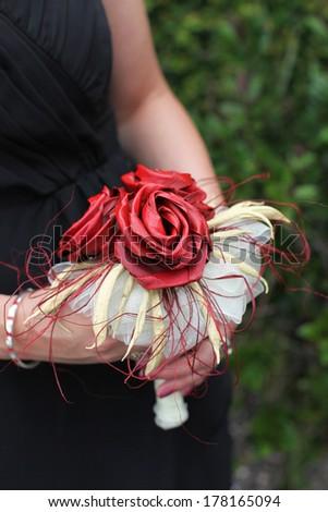 Bridal bouquet. - stock photo