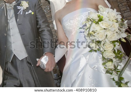 Bridal image, splendid and elegant very nice wedding