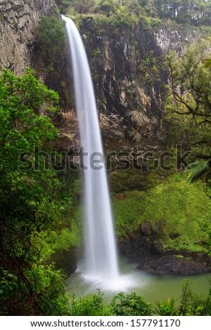 Bridal Veil Falls, North Island, New Zealand - stock photo