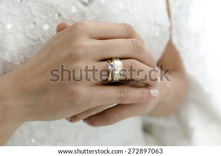 bridal wedding ring
