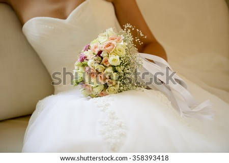 Bride Flower - stock photo