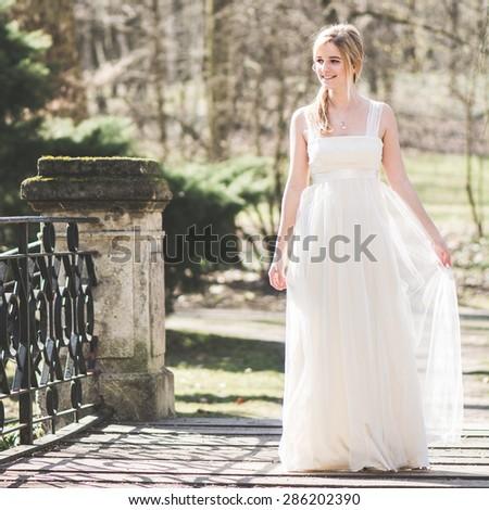 Bride, wedding concept - stock photo