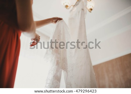 bridesmaid looking for a great stylish dress