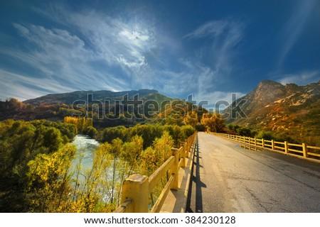 bridge, - stock photo